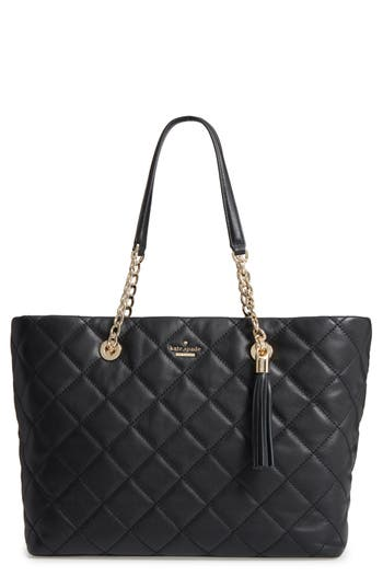 Kate Spade New York Emerson Place - Priya Quilted Leather Tote -