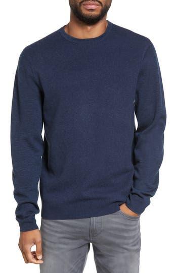 Calibrate Merino Wool Blend Sweater, Blue