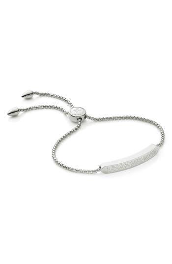 Monica Vinader Baja Skinny Pavé Diamond Bracelet