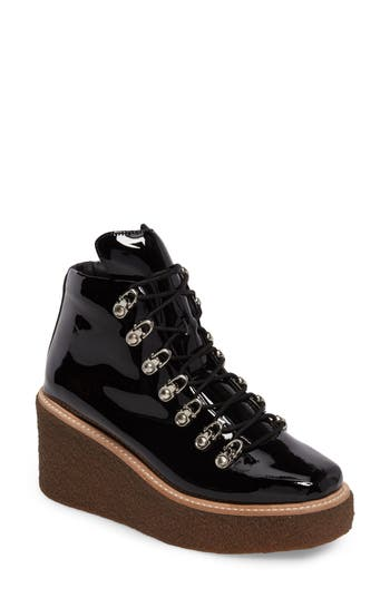 Women's Jeffrey Campbell Viajar Waterproof Platform Wedge Bootie at NORDSTROM.com
