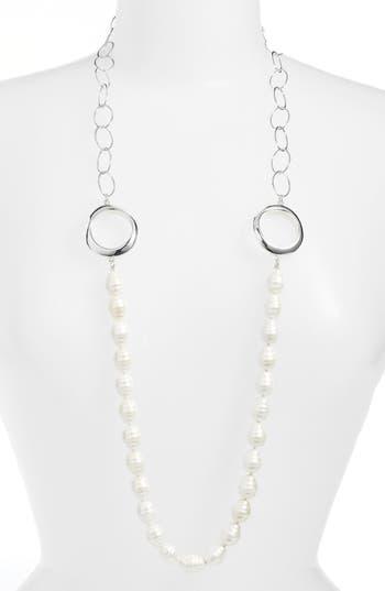 Women's Simon Sebbag Long Imitation Pearl Necklace