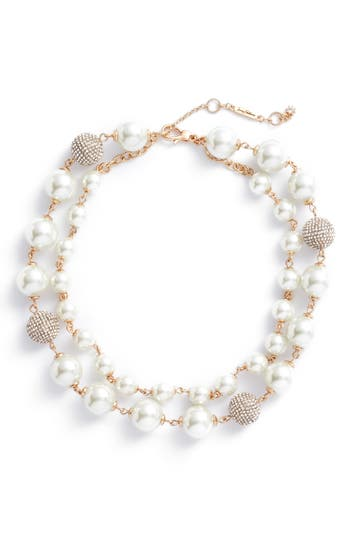 Women's Jenny Packham Multistrand Imitation Pearl Necklace