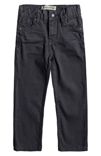 Boys Quiksilver Distorsion Slim Fit Jeans