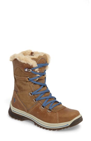 Santana Canada Majesta 2 Faux Fur Lined Waterproof Boot, Brown