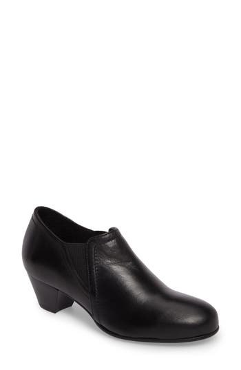 David Tate Maple Bootie N - Black