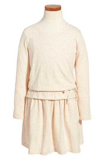 Girls Tea Collection Ayr Adventure Dress Size 4  Beige