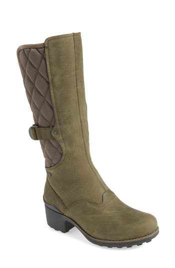 Merrell Chateau Tall Pull Waterproof Boot, Green