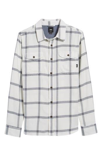 Vans Wayland Ii Flannel Sport Shirt, White