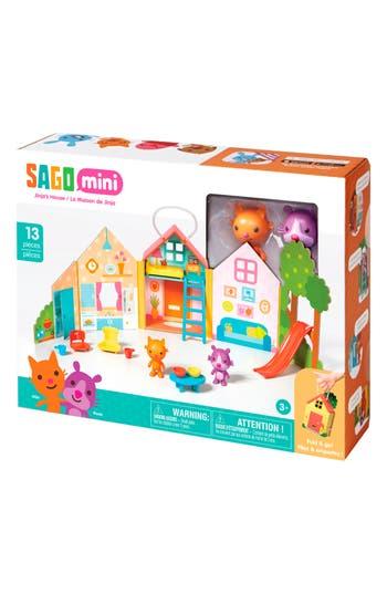Sago Mini Jinjas House Portable Play Set