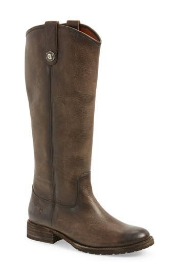Frye Melissa Lug Boot, Grey
