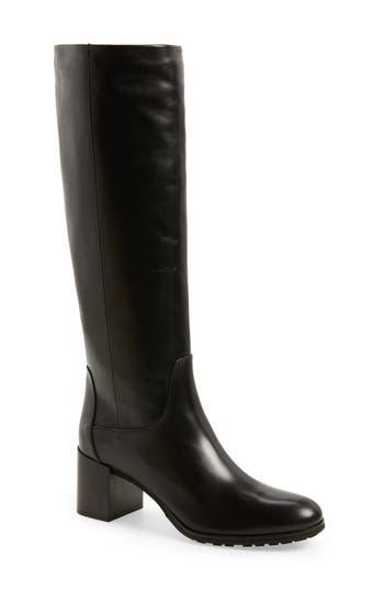 Aquatalia Evelin Weatherproof Knee High Boot, Black