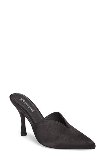 Jeffrey Campbell Jodeci Sweetheart Mule Pump, Black