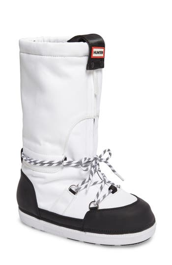 Hunter Original Waterproof Snow Boot, White