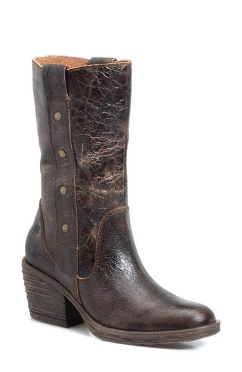 B?rn Copper Studded Boot- Brown
