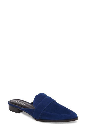 Charles By Charles David Emma Loafer Mule, Blue