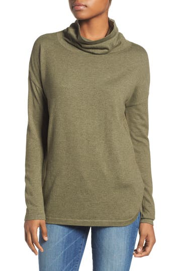 The North Face Woodland Tunic Sweater, Green