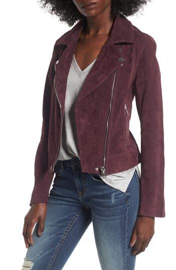 BLANKNYC Suede Moto Jacket