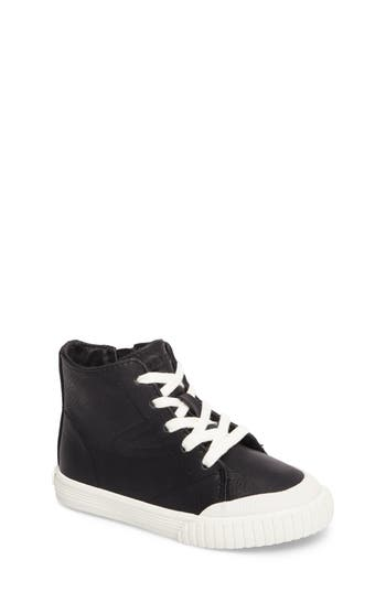 Girls Tretorn Marley High Top Sneaker Size 1 M  Black