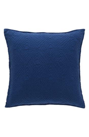 Pine Cone Hill Kerala Matelasse Sham, Size Standard - Blue