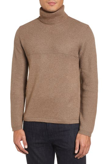 Zachary Prell Mix Stitch Turtleneck Sweater