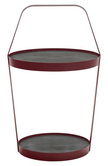 Design On Stock Usa Side Table, Size One Size - Burgundy