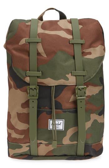 Boys Herschel Supply Co Retreat Camo Backpack