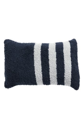 Barefoot Dreams Cozychic Tri-Stripe Accent Pillow, Size One Size - Blue