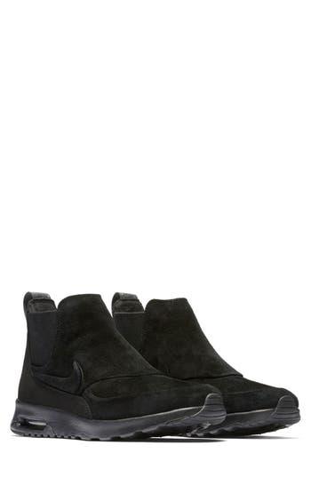Nike Air Max Thea Mid-Top Sneaker- Black