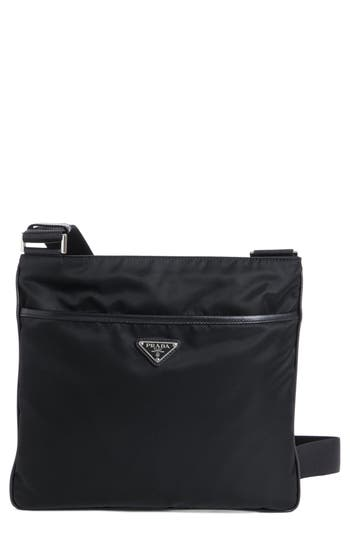 Prada Slim Compact Messenger Bag