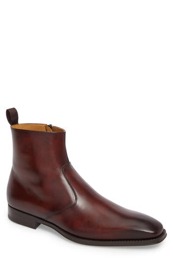 Magnanni Rosdale Zip Boot, Brown
