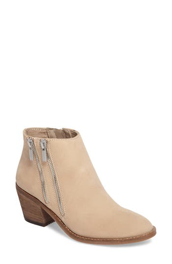 Sole Society Bonny Three Zip Bootie, Brown