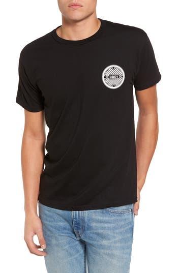Obey Sewer Creep T-Shirt, Black