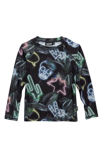 Boys Molo Neptune Long Sleeve Rashguard