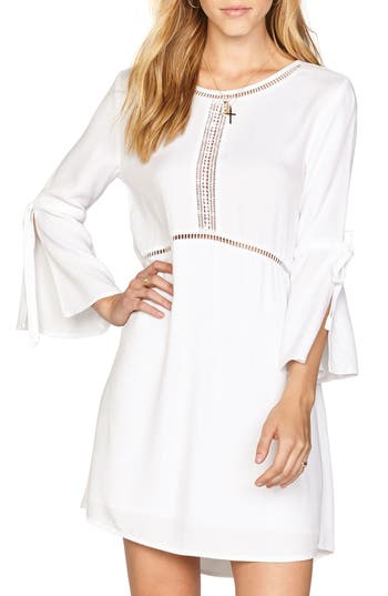 Amuse Society On The Go Crepe Dress, White