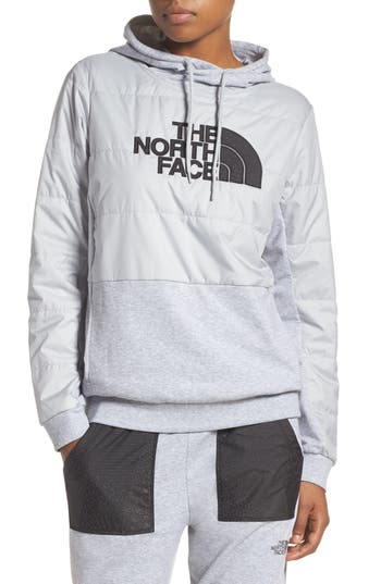 The North Face Reflective Logo Hoodie, Grey
