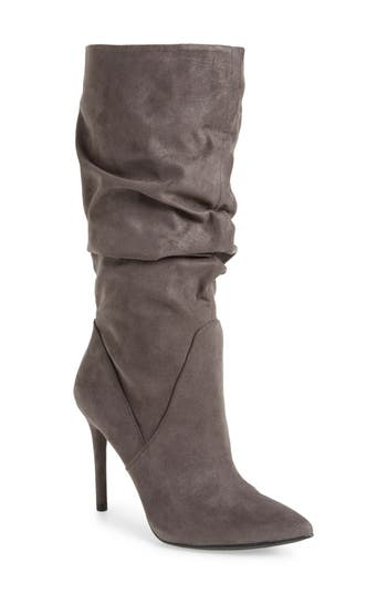 Jessica Simpson Lyndy Slouch Boot, Grey