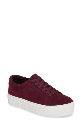Kenneth Cole New York Abbey Platform Sneaker, Burgundy