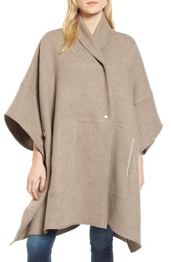 Women's James Perse Nomad Blanket Coat, Size One Size - Brown