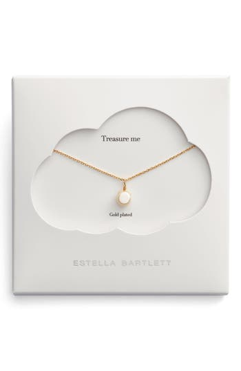 Estella Bartlett Treasure Me Pearl Necklace