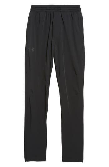 Under Armour Fitted Woven Training Pants, Black