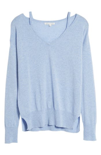 Rebecca Minkoff Kenley Wool & Cashmere Sweater, Blue