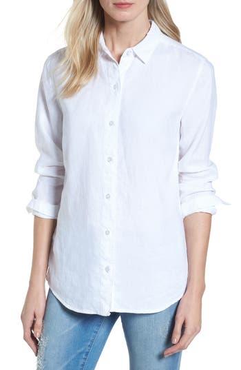 Womens Tommy Bahama Sea Glass Breezer Top Size Large  White