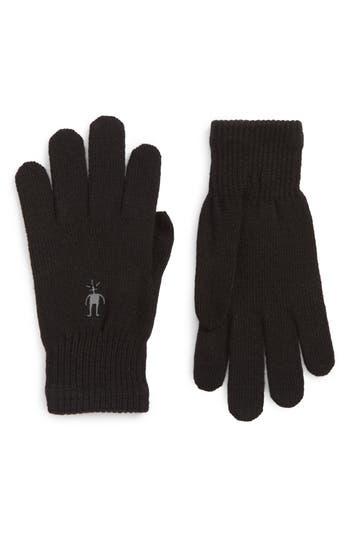 Smartwool Liner Tech Gloves, Black