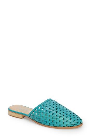 Women's Callisto Fenix Mule, Size 6 M - Blue/green