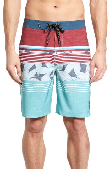 Rip Curl Mirage Shake Up Board Shorts, Blue/green