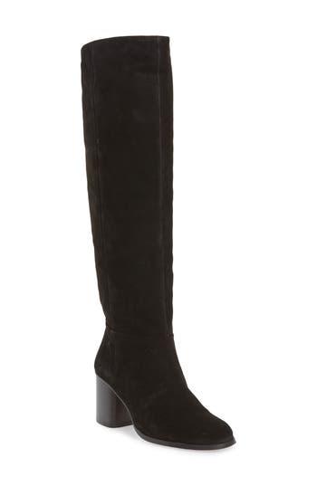 Steve Madden Oscar Knee High Boot, Black