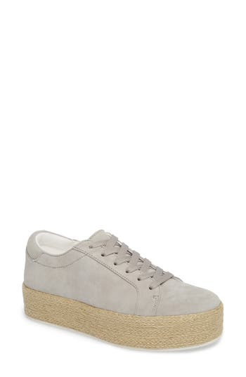 Kenneth Cole New York Allyson Espadrille Platform Sneaker, Grey