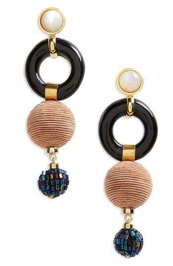 Women's Lizzie Fortunato Loop Chain Earrings