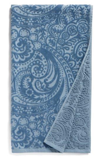 Nordstrom At Home Elisa Turkish Cotton Bath Towel, Size One Size - Blue