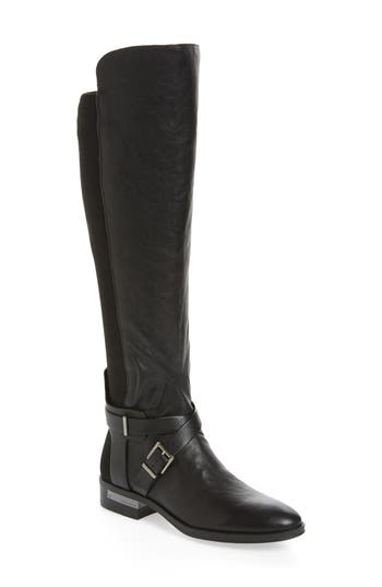 Vince Camuto Paton Over The Knee Boot- Black